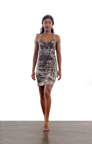 Tuberose Dress - Cinnamon Smoke
