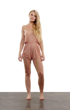 Dew Blossom Mini Romper - Rose Moon