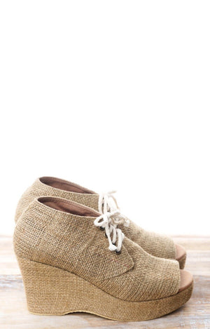 Bare Beauty Wedges - Honey - Isabelle Moon