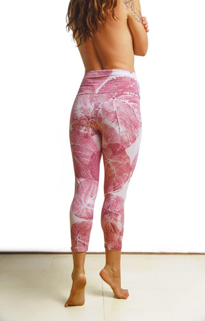 Enchanted Leggings - Plumeria Petal