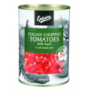Italian Chopped Tomatoes with Basil 400g