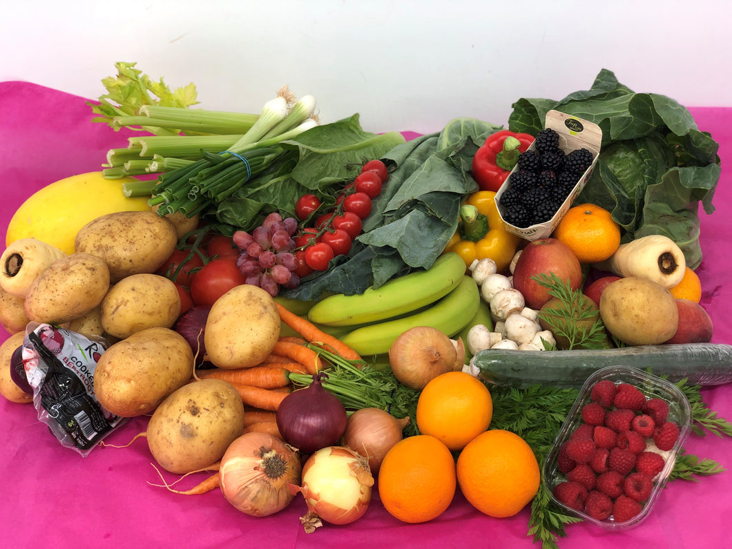 Large fruit and veg box