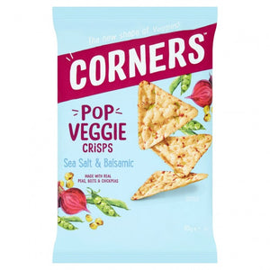 Corners Popcorn Crisps Salt & Vinegar 28g