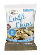 Eat Real - Lentil Chips. Sea Salt 30g