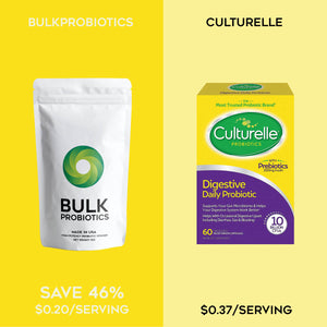 Compare to: Culturelle Daily Probiotic, Digestive Health Capsules, Works Naturally with Your Body to Keep Digestive System in Balance*, With the Proven Effective Probiotic