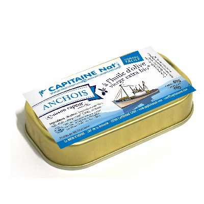 Anchois Huile Olive** 48g Capitaine Nat