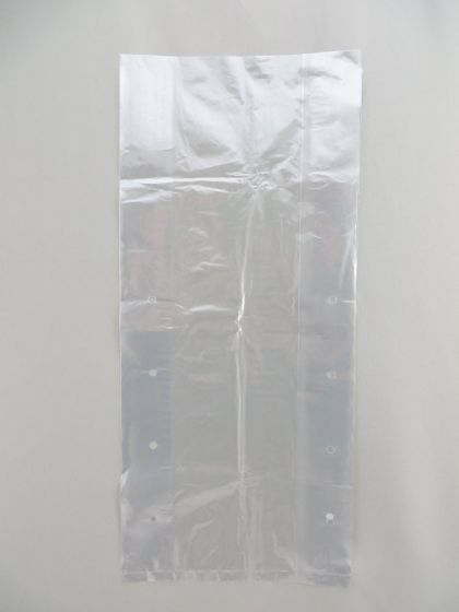 Clear Poly Vented Bag (8