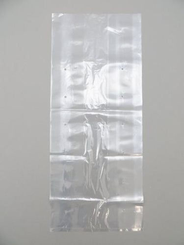 LDPE Clear Poly Vented Bags (10