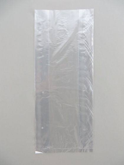 LDPE Clear Poly Vented Bags (6