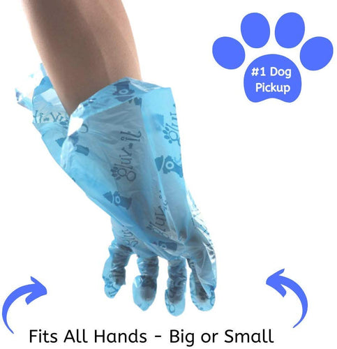 Gluvlt 2 in 1 Dog Waste Bags Blue