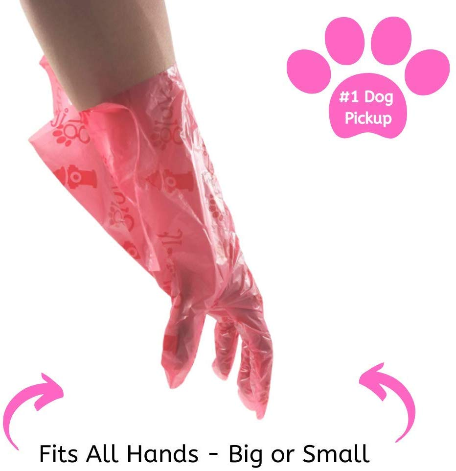 Gluvlt 2 in 1 Dog Waste Bags Pink