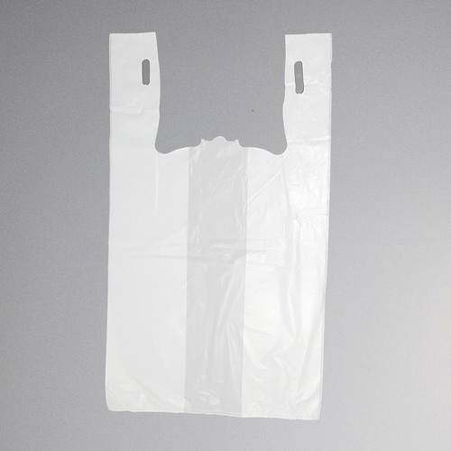 Standard Unprinted White T-Shirt Bag (13