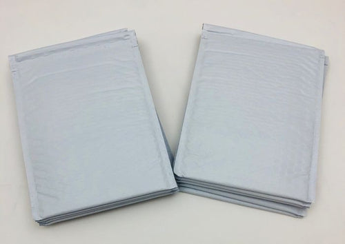 White Poly Bubble Mailers (6.5
