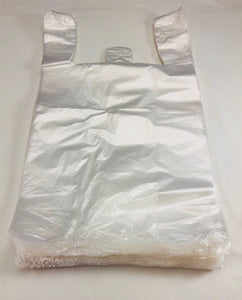 "Clear Natural Color T-Shirt Bags (Unprinted) (11.5"" x 6.5"" x 21"")"