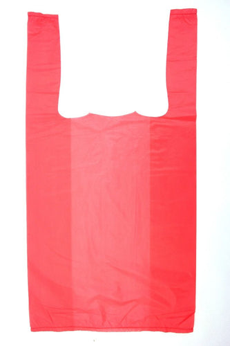 Unprinted Pink T-Shirt Bag (1/10 BBL - 8
