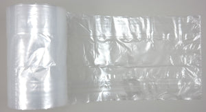 "Clear Poly Bag on a Roll (8"" x 4"" x 18"")"