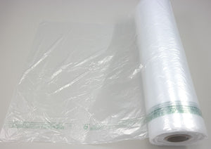 "Child Warning HDPE Produce Roll Bags (18"" x 24"")"