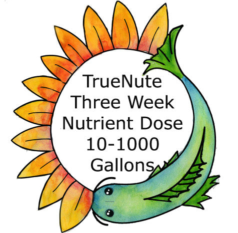 TrueNute Three Week Nutrient Dose 10 - 1000 Gallon Systems
