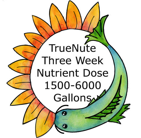 TrueNute Three Week Nutrient Dose 1500 - 6000 Gallon Systems