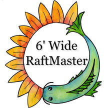Load image into Gallery viewer, RaftMaster™ Frame for Deep Water Culture 6' Wide