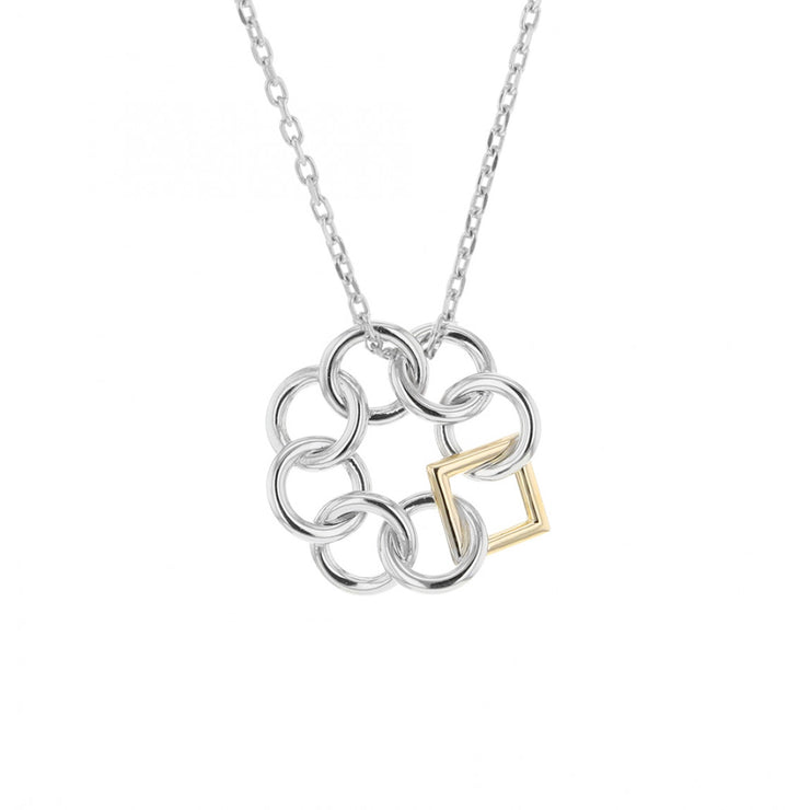 EMBRACE THE DIFFERENCE® TWO TONE MINI PENDANT