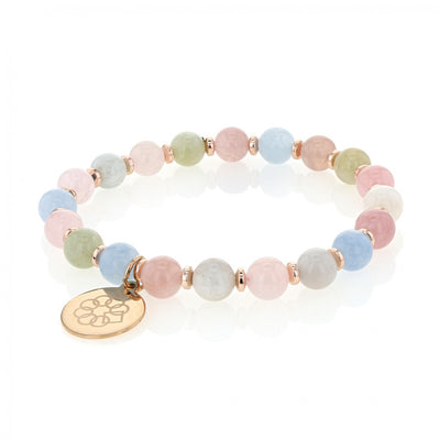 EMBRACE THE DIFFERENCE® STRETCH BRACELET - MORGANITE