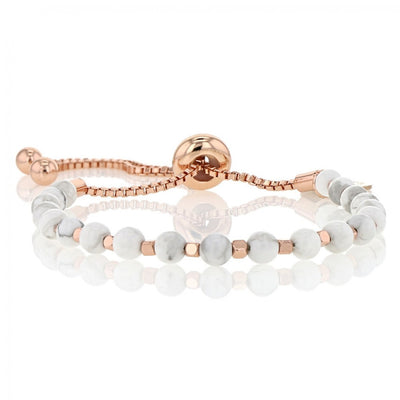 Embrace the Difference® Bolo Bracelet - Howlite