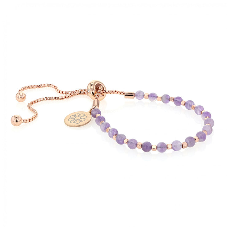 Embrace the Difference® Bolo Bracelet - Amethyst
