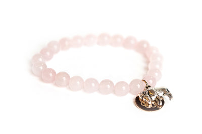 Buffalo Embrace the Difference® Rose Quartz Stretch Bracelet