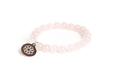 Embrace the Difference® Rose Quartz Gemstone Stretch Bracelet