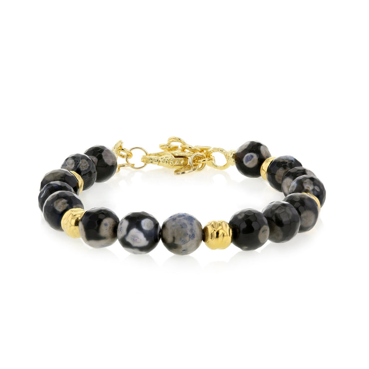 Italian, Black Jasper & Bronze Embrace the Difference® Bracelet