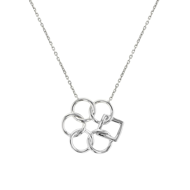Embrace the Difference® Simply Classic Pendant - Sterling Silver