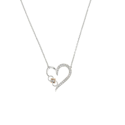 Embrace the Difference® Diamond Heart Pendant