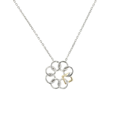 Embrace the Difference® Simply Classic Mini Pendant - Two Tone
