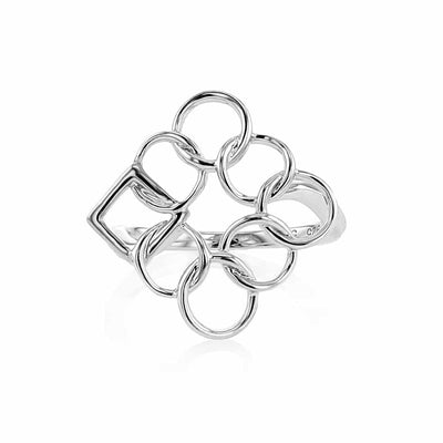 Embrace the Difference® Angled Ring - Sterling Silver