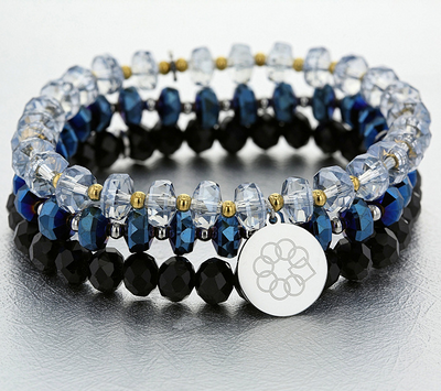 Embrace The Difference® Set of 3 Beaded Bracelets, QVC