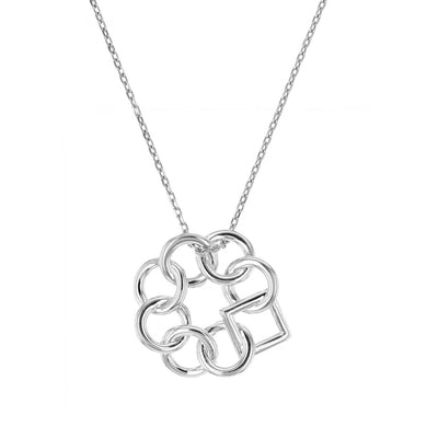Embrace the Difference® Original Pendant - Sterling Silver