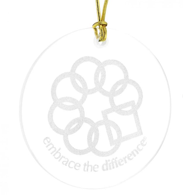 EMBRACE THE DIFFERENCE® ORNAMENT