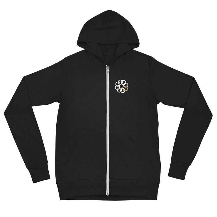 Embrace the Difference® Designed to be Kind™ Unisex zip hoodie