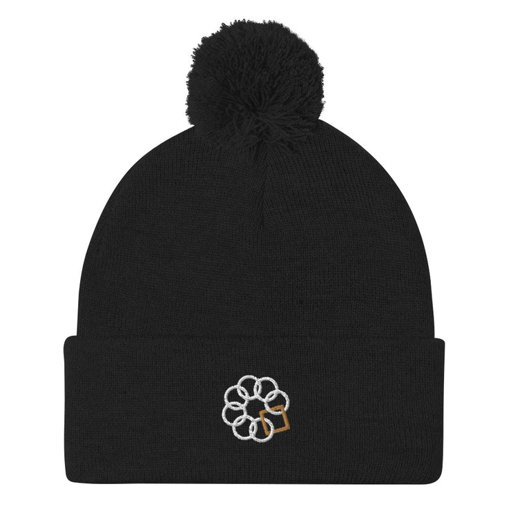 Embrace the Difference® Unisex Pom-Pom Beanie - more colors available
