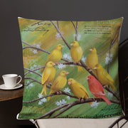 "Embrace the Difference® ""Painting a Better World"" Premium Pillow"