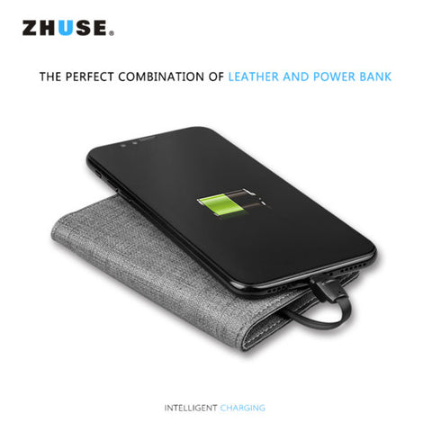 Zhuse Smart Wallet VOGUE series Power bank 2500mAh