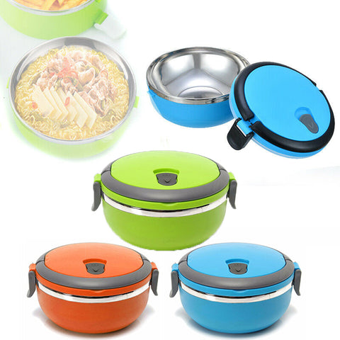Lunch Box (Stainless Steel Round 1 Layer)