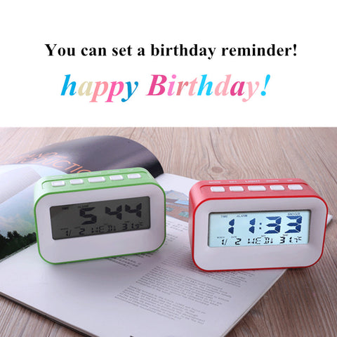 Elf Music Alarm Clock