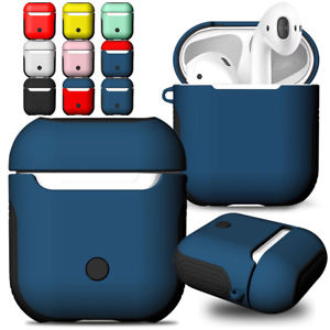 For Apple AirPods Air Pod Accessories Silicone Anti-lose Grip Wrap Cover Case