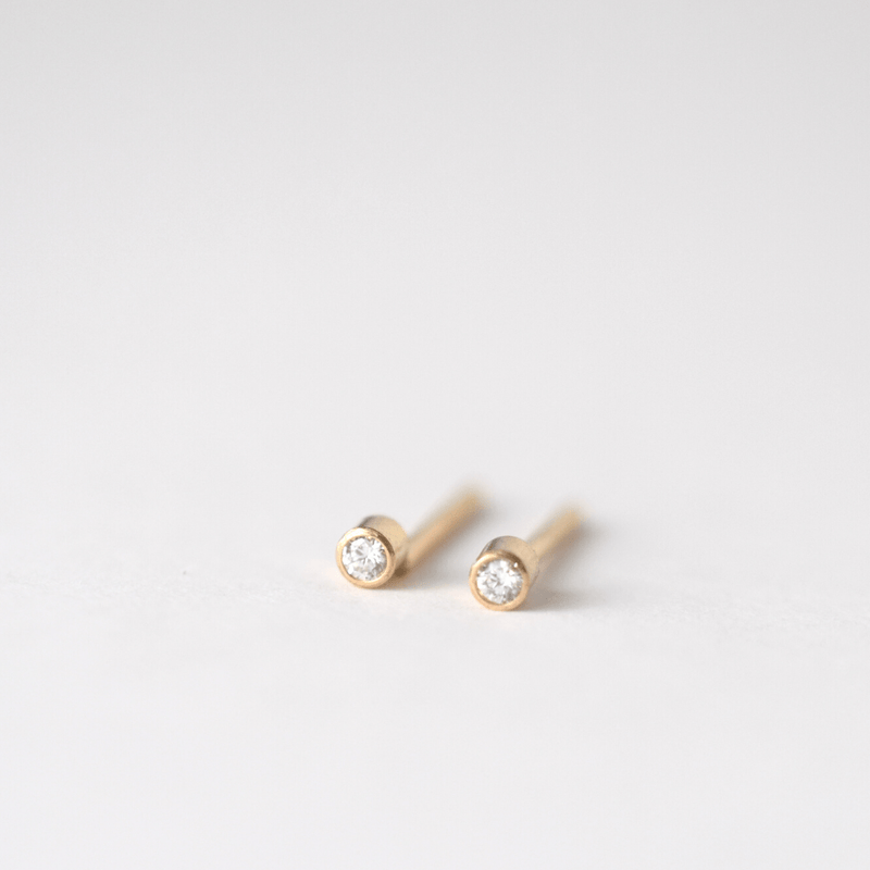 OXB Studio Earrings Diamond Studs