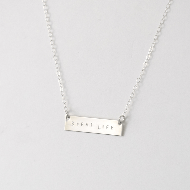 OXBStudio Necklace Sweat Life Bar