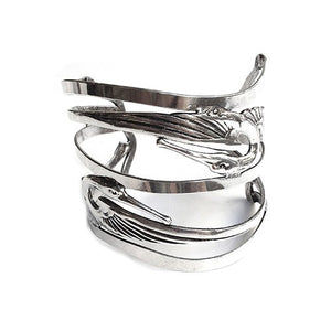 Bracelet Manchette double Kiss Bird