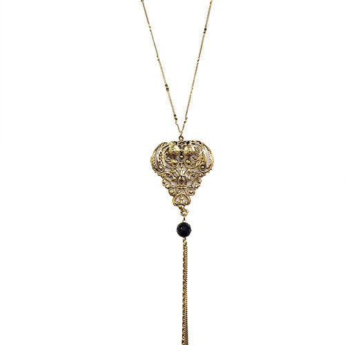COLLIER ANTIQUE DORE