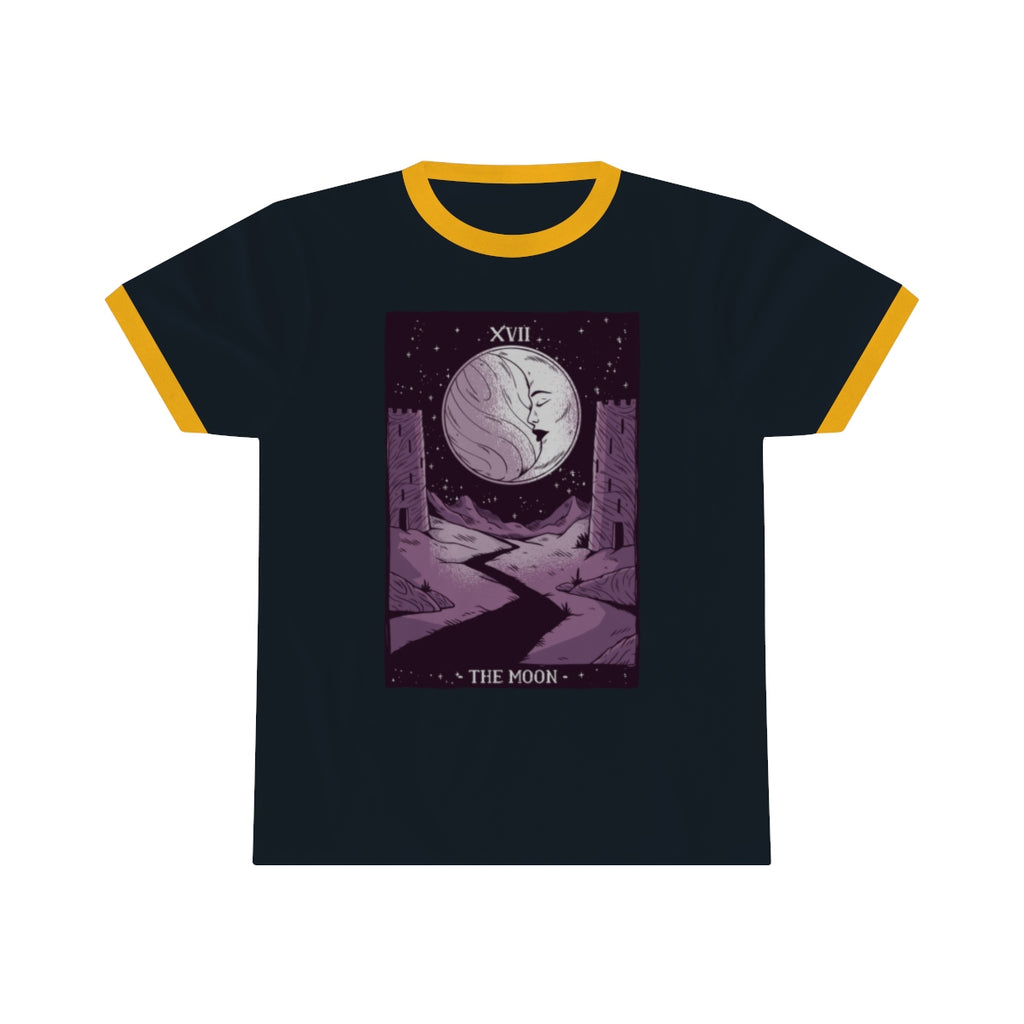 The Moon Tarot Ringer Tee